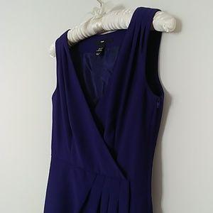 Purple sleeveless dress from H&M